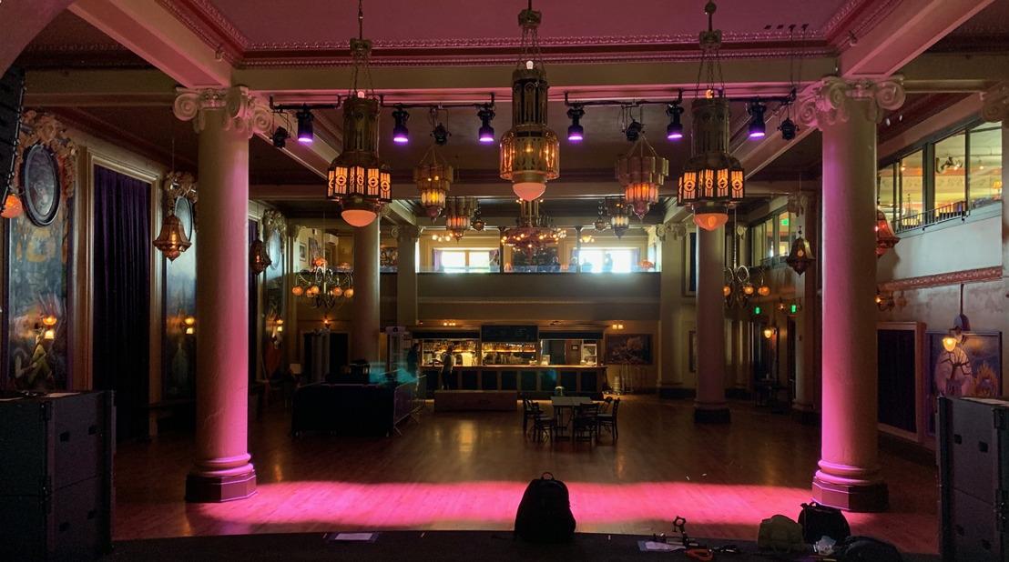Powersoft Provides High-Density Amplification Solution at McMenamin's Elks Temple Spanish Ballroom