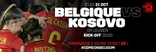 Les Belgian Red Flames veulent enflammer le stade Den Dreef pour leur retour
