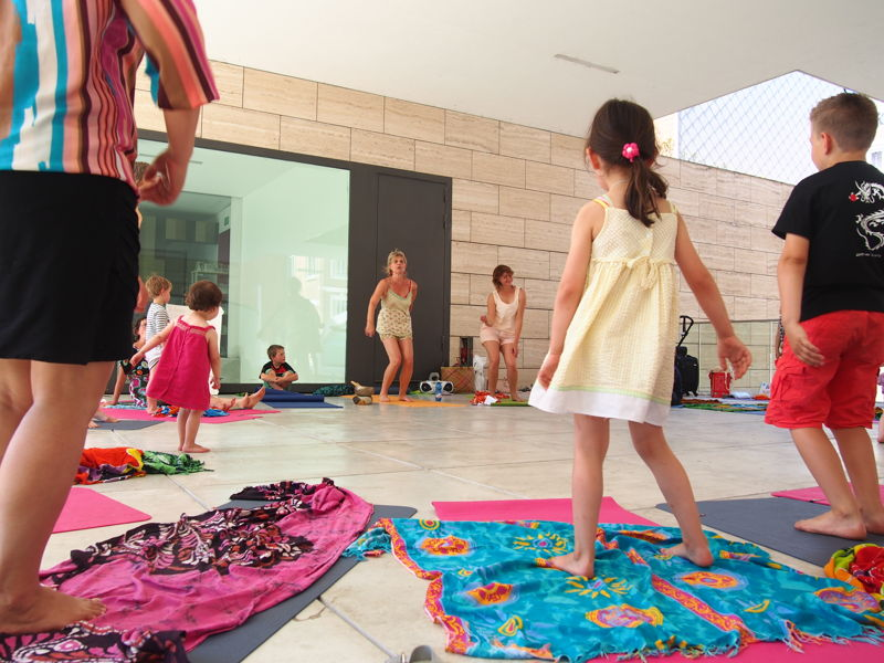 Yogasessies tijdens de zomerse zaterdagen | (c) Andy Merregaert