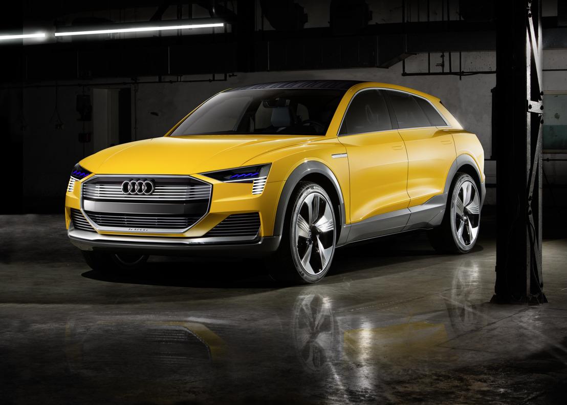 Zero emissie: de Audi h-tron quattro concept
