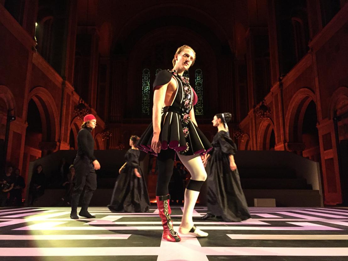 Prada diseña el vestuario para el performance de David Hallberg, Fortuna Desperata de Francesco Vezzoli