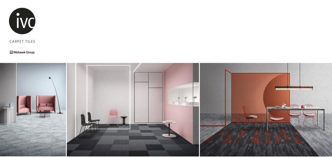 Creatief combineren met IVC-tapijttegels