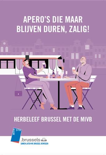 Brussel komt weer in beweging met de MIVB, zalig.
