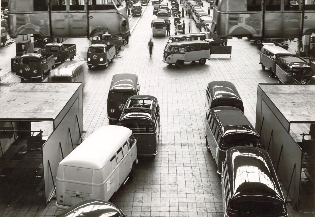 8 maart 1956 - productiestart van de T1 in Hannover