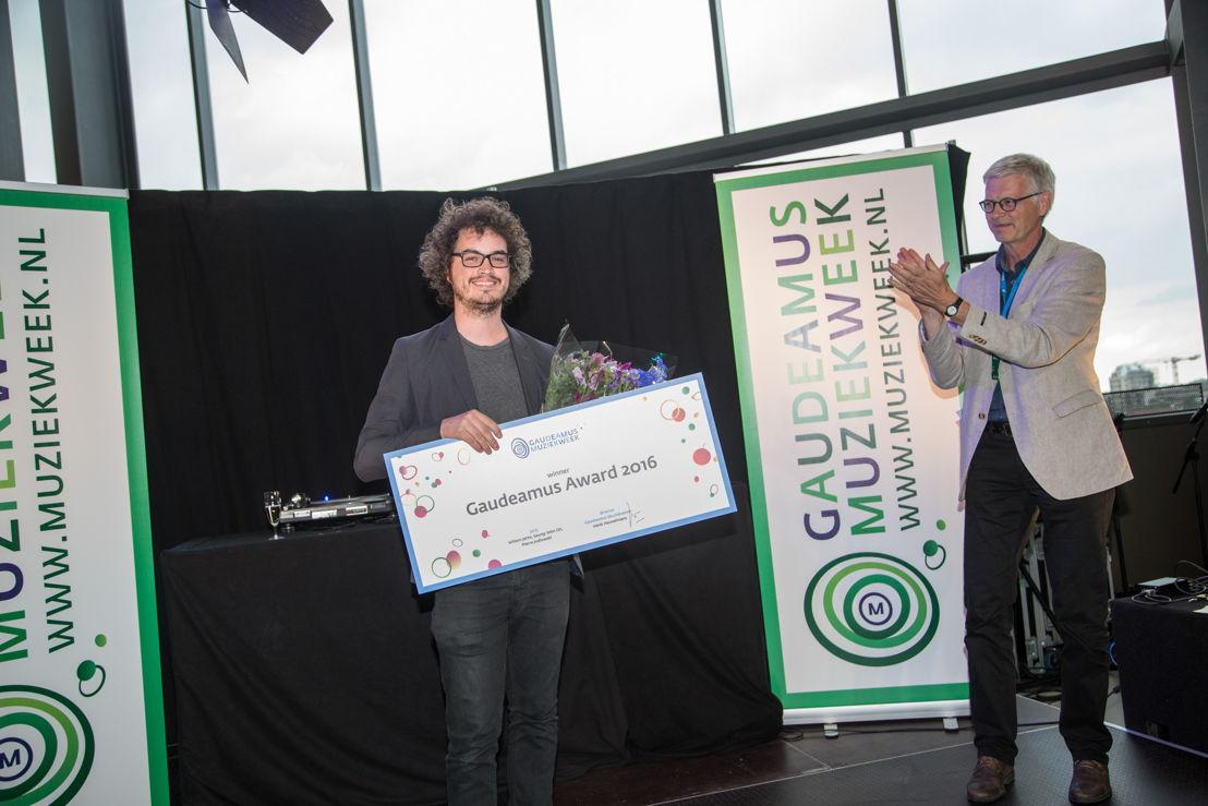 Gaudeamus Award 2016: Anthony Vine, Henk Heuvelmans (c) Herre Vermeer