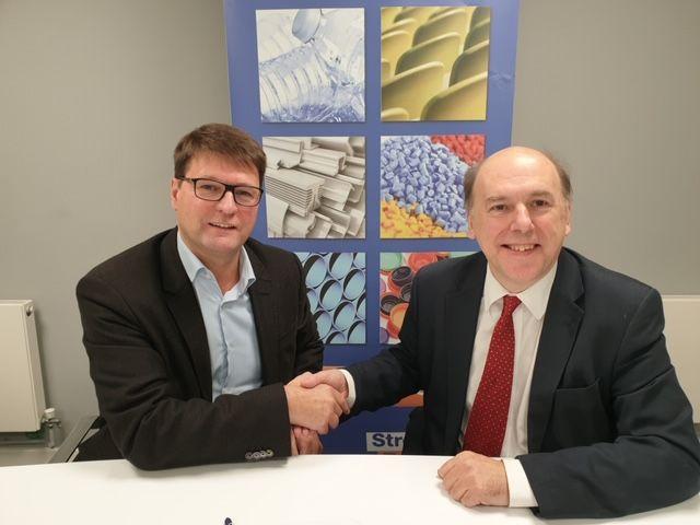 EuPC Managing Director Alexandre Dangis (left) and BPF Director General Philip Law.