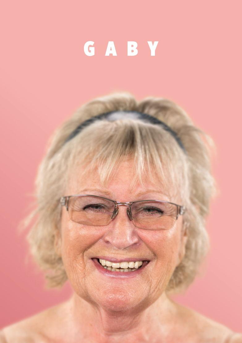 Gaby, 78 jaar, gescheiden. <br/>Oostende.