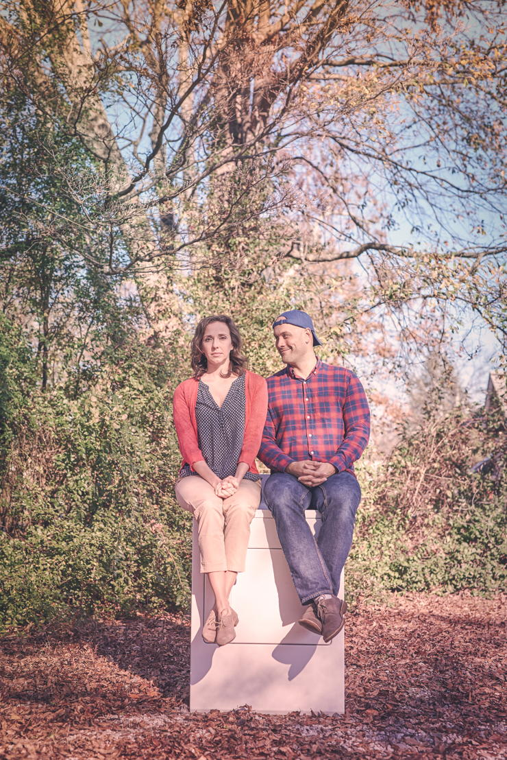 Courtney Patterson and Brad Brinkley (photo credit Chris Bartelski)