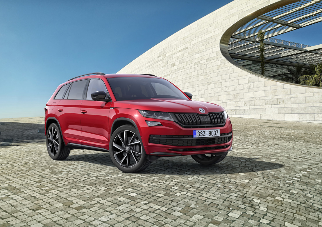 ŠKODA KODIAQ SPORTLINE and ŠKODA KODIAQ SCOUT at the IAA 2017