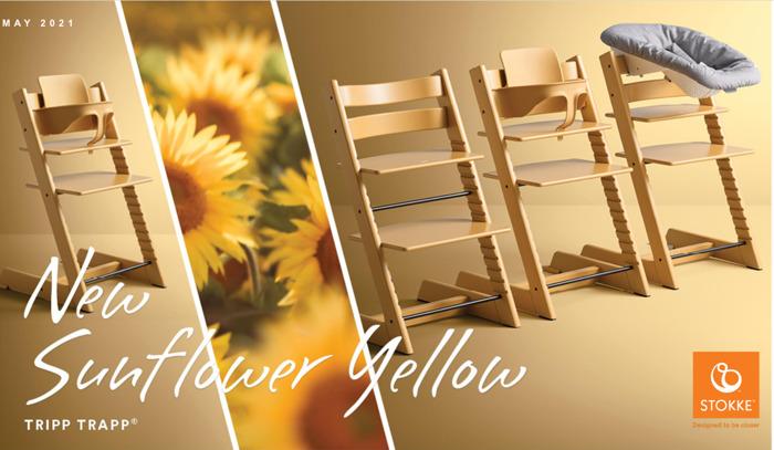 Haal het zonnetje in huis Met de Tripp Trapp®-stoel in Sunflower Yellow