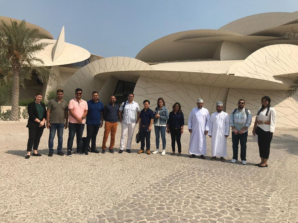 Media Tour at National Museum of Qatar