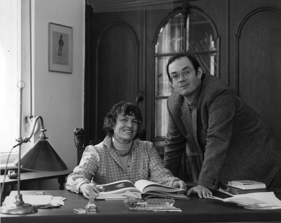 Marielise Göpel (née en 1922) et Justus Göpel, co-directeurs généraux d
