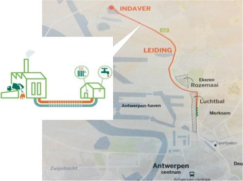 Fluvius onderzoekt haalbaarheid nieuw warmtenet Antwerpen Noord