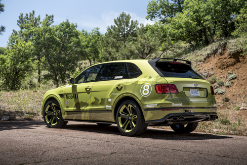 BENTLEY PRESENTS THREE DYNAMIC DEBUTS AT GOODWOOD FESTIVAL OF SPEED