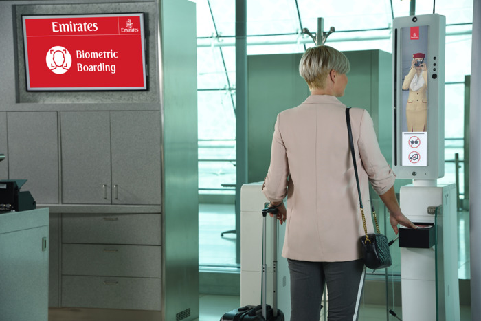 """Emirates unveils world's first integrated """"biometric path"""", raising the bar for airport customer experience"""