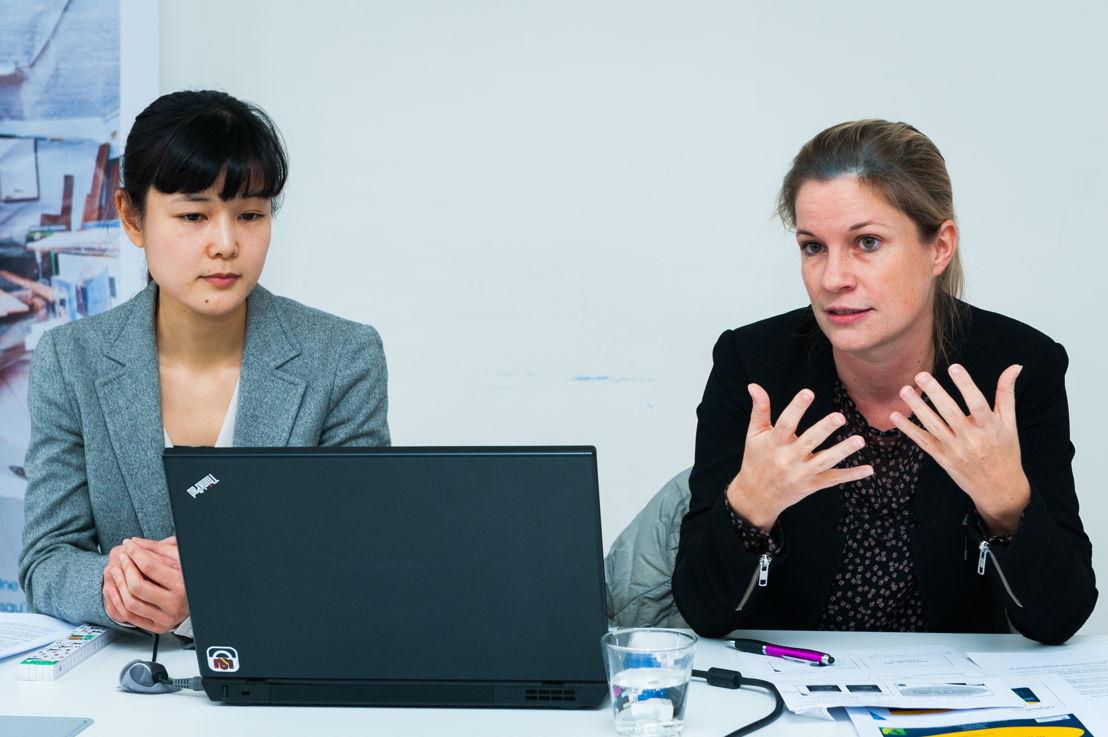 Kana Hayashida (MBA Vlerick Business School) & Veroniek Collewaert (Professeur d'entrepreunariat, Vlerick Business School)