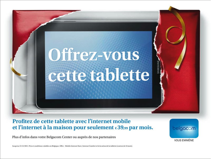 Newspaper - Promo tablette Samsung