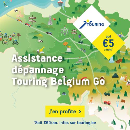 Cet hiver, TBWA ET TOURING parcourent la Belgique en toute tranquilité…