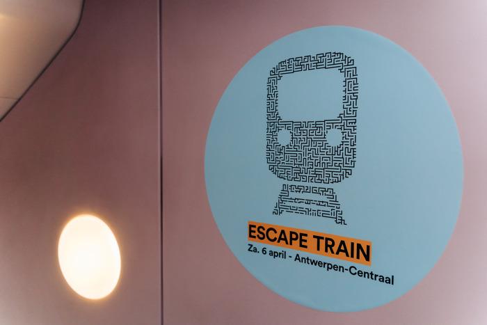 PERSBERICHT: Escape Train voor zoektocht naar 360 nieuwe treinbestuurders bij NMBS