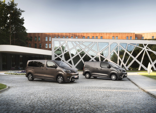 Toyota PROACE 2018 nouvelle gamme/nieuw gamma
