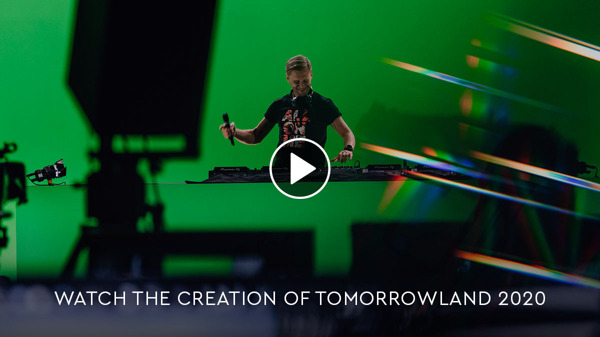 Preview: Tomorrowland releases exclusive documentary: 'Never stop the music – The Creation of Tomorrowland 2020'
