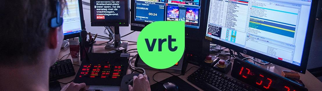 Voorlopig geen mondmaskers in VRT-studio's