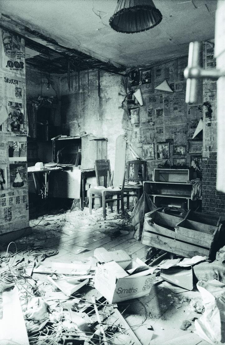 Spookappartement boven de foyer. Foto Hans Roels