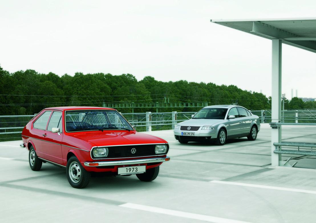 40 jaar Volkswagen Passat