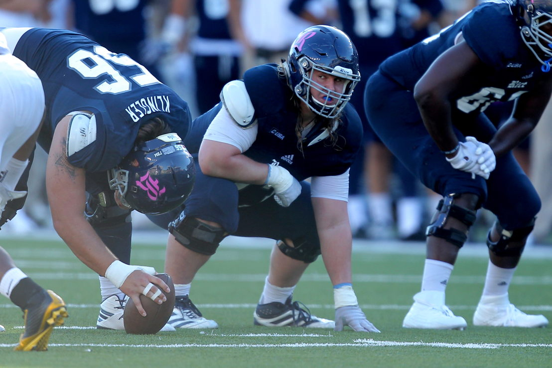 No. 7 OL Peter Godber, Rice (Photo Credit: Rice University)