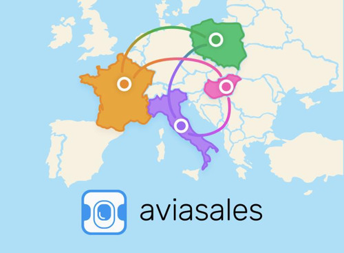 Preview: Галопом по Европам: Aviasales запустил новый сервис путешествий «Евротуры»