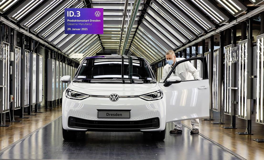 Production de véhicules électriques pour le monde entier