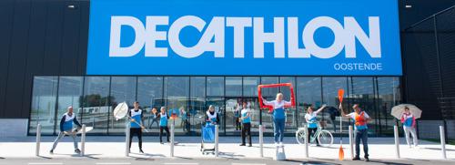 Decathlon Oostende, een dijk van een sportbelevingswinkel