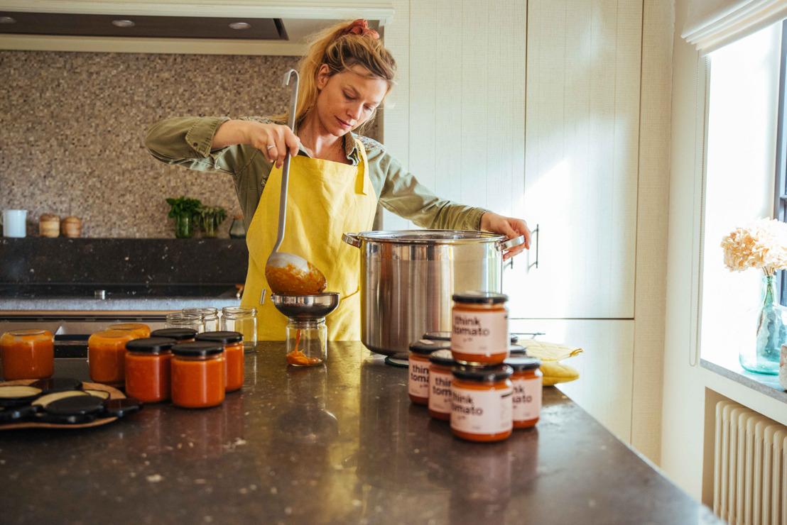 Heerlijk Belgisch en home made: Walkie Talkie verwelkomt think tomato, by Julie!