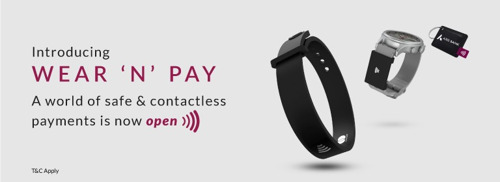 Thales brings contactless payment functionalities to Axis Bank's Wear 'N' Pay wearables program
