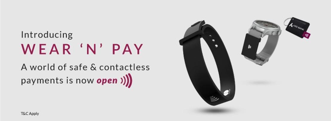 Thales apporte les fonctionnalités de paiement sans contact aux accessoires Wear 'N' Pay d'Axis Bank