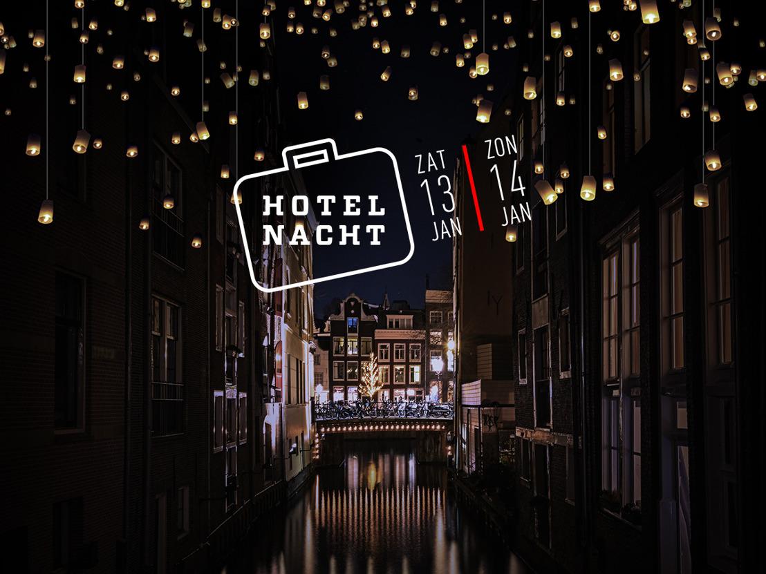 De 6e editie van de Hotelnacht staat voor de deur