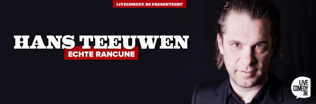 Hans Teeuwen komt naar België!