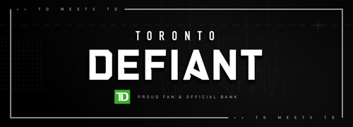 TORONTO DEFIANT, TD BANK GROUP INK NEW SPONSORSHIP DEAL