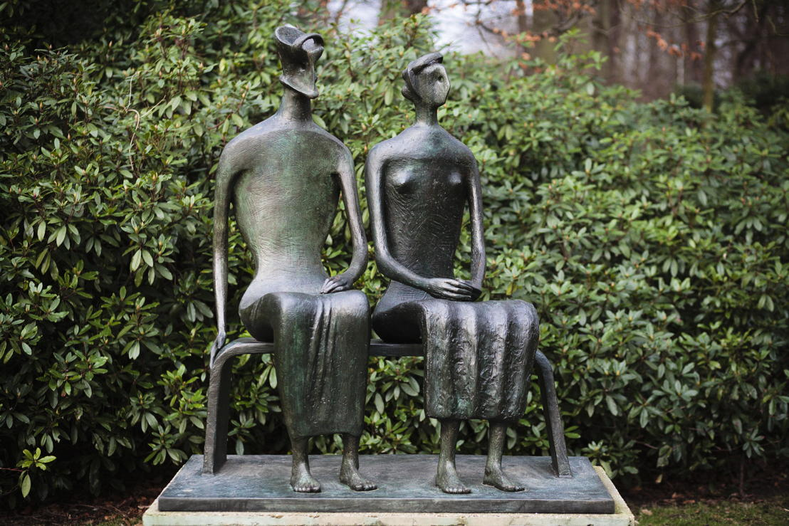 Henry Moore, King and Queen, 1952-53 © The Henry Moore Foundation and SABAM Belgium [2018]