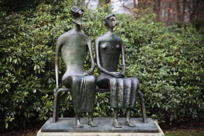 Henry Moore, King and Queen, 1952-53 © The Henry Moore Foundation and SABAM Belgium [2016]