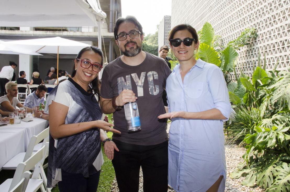 Zaira Espíritu, Alejandro Romero y Erika Loana