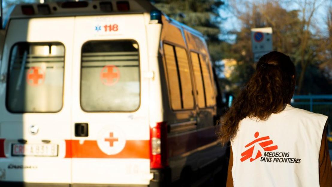 Ärzte ohne Grenzen im Einsatz gegen COVID-19 in Afrika