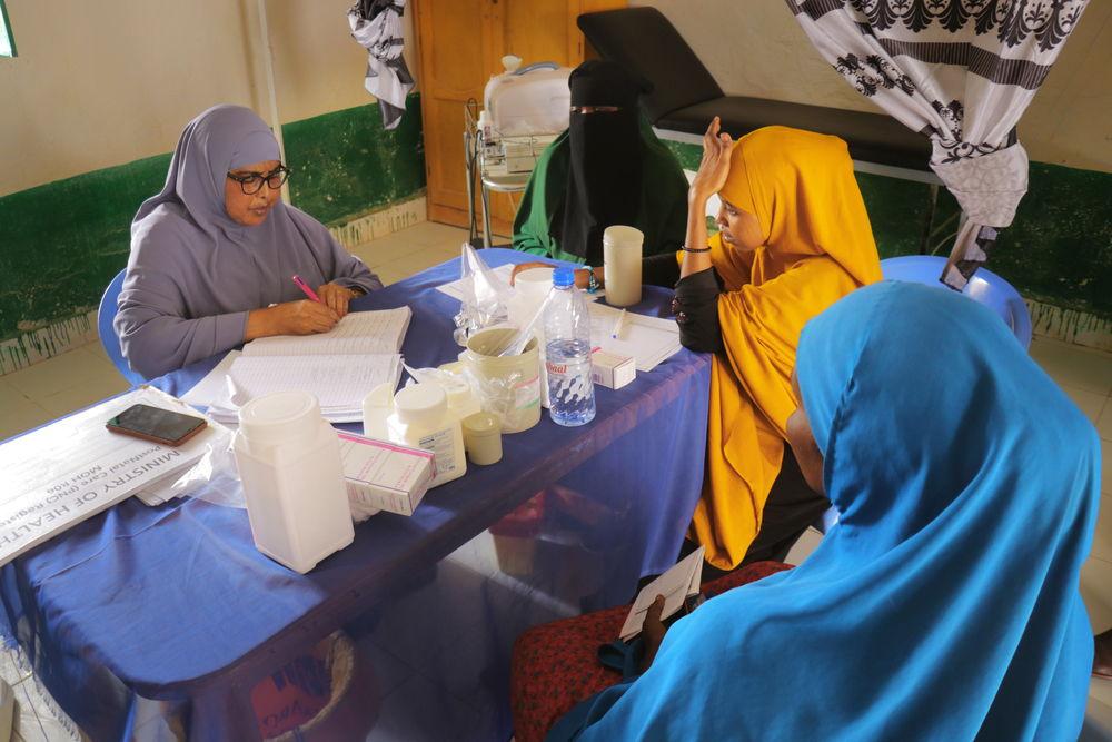 Unas mujeres atendidas en la maternidad de Mudug. Abdalle Mumin / MSF