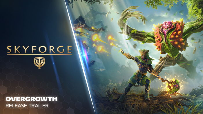 Preview: FREE OVERGROWTH EXPANSION AVAILABLE FOR SKYFORGE