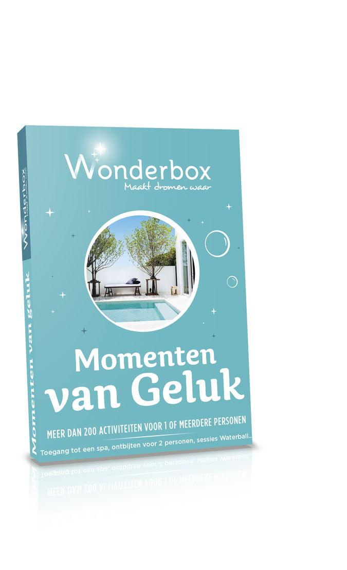 Wonderbox - Mini geschenkdoos ´Momenten van Geluk´- 24,90 euro