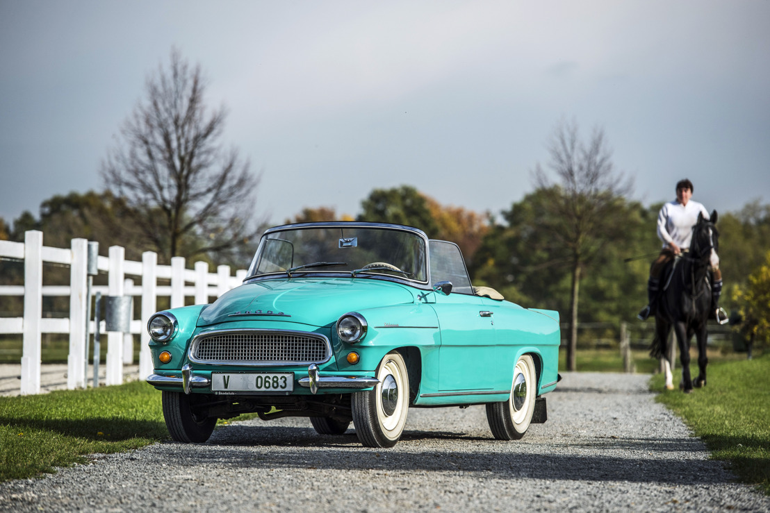 The ŠKODA FELICIA convertible celebrated its world premiere 60 years ago