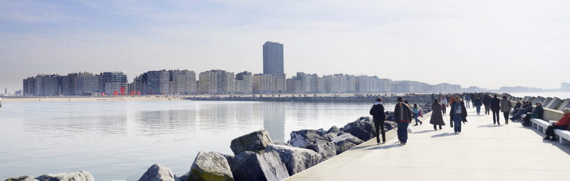Oostende panorama
