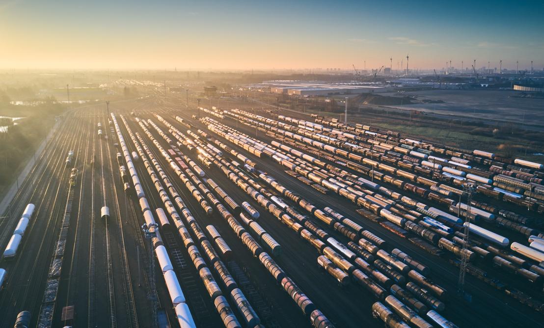 Une vision ferroviaire durable pour le port d'Anvers