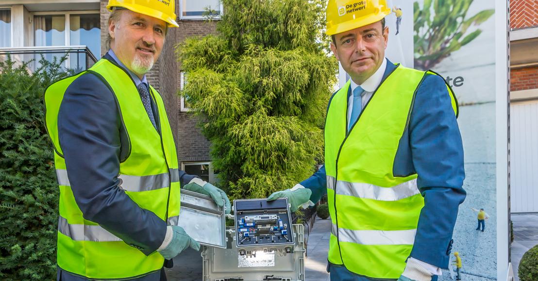 Telenet investeert zwaar in Antwerpse kabelnetwerk