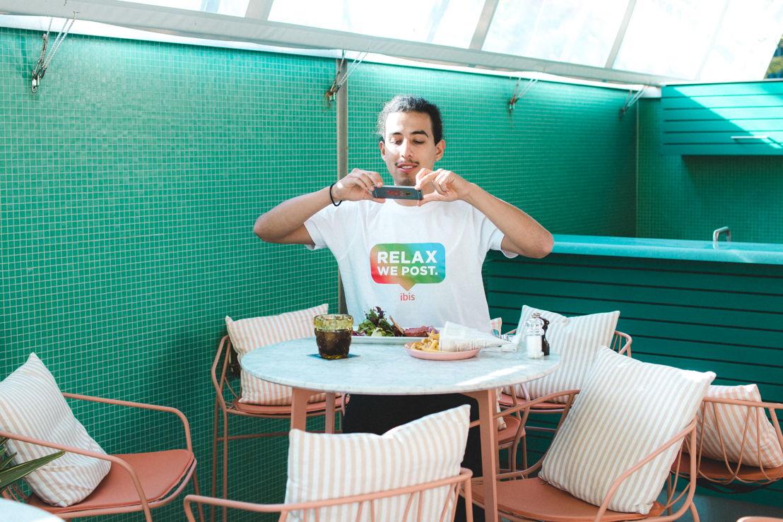 Instagram-sitter Pool Bar Zurich